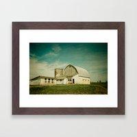 Route 661 Barn Framed Art Print
