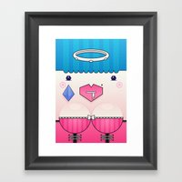 Candy The Valentine's Sp… Framed Art Print