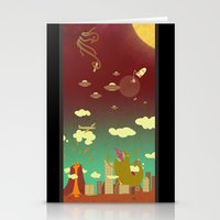 The End Of The World As … Stationery Cards