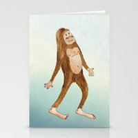Sasquatch Stationery Cards
