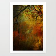 Promises Of A Fall Past Art Print