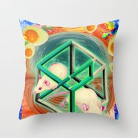Life, As Many People Hav… Throw Pillow