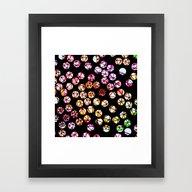 Polka Dots Framed Art Print