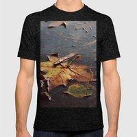Float Away Mens Fitted Tee Tri-Black SMALL