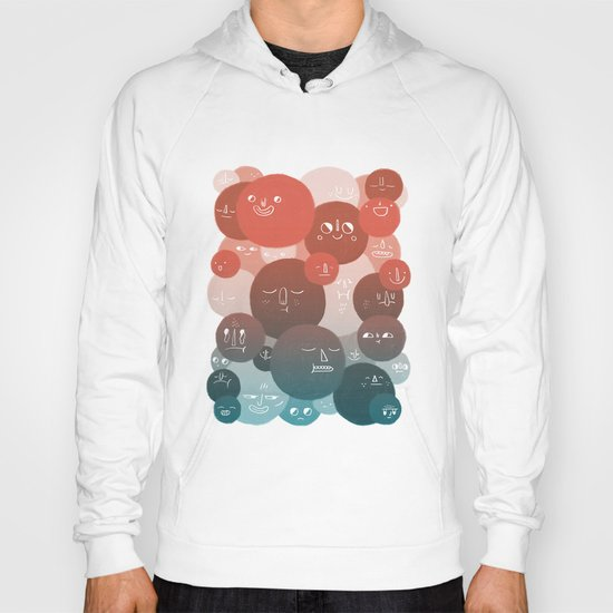 Blood Cells Hoody