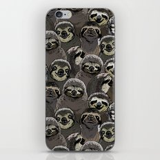 Social Sloths iPhone & iPod Skin