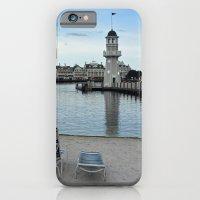 iPhone Cases featuring Serene Beach by BeachStudio