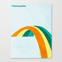 Mariaplan Original Artwo… Canvas Print