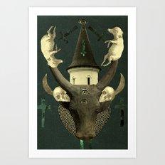death rattle Art Print