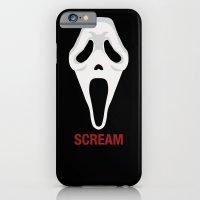 iPhone & iPod Case featuring SCREAM by Alejandro de Antonio Fernández