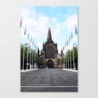 Medieval Glasgow Canvas Print