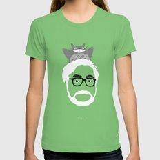 Miyazaki, 1941 Womens Fitted Tee Grass SMALL