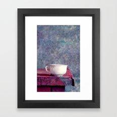 sweet cup Framed Art Print