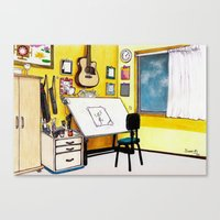 MEMORIES OF MY INNER CHI… Canvas Print