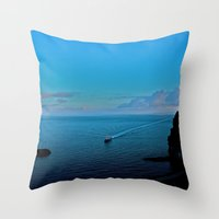 Sunrise on Amalfi  Throw Pillow