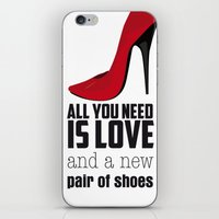 All You Need Is Love! iPhone & iPod Skin