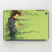The green thumb curse III iPad Case