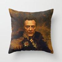 Christopher Walken - Rep… Throw Pillow