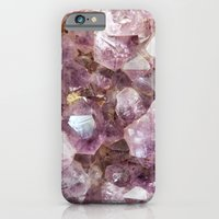 iPhone & iPod Case featuring Amethyst and Gold by D. S. Brennan Photography