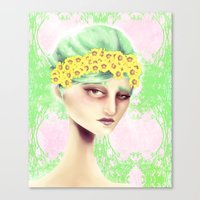 Flowers That Bloom Canvas Print