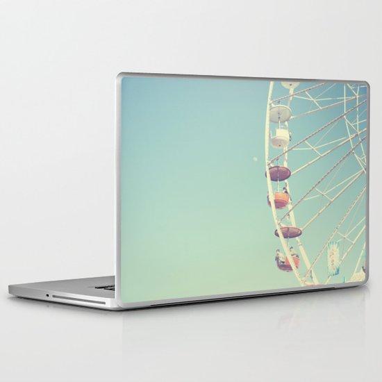Touch the Moon Laptop & iPad Skin