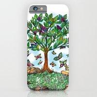 Flutterby Tree iPhone 6 Slim Case