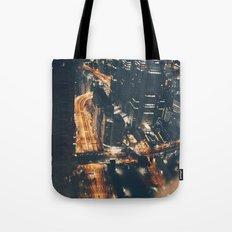 Streamed Tote Bag