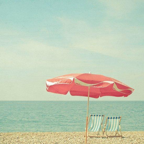 Deserted Beach Art Print