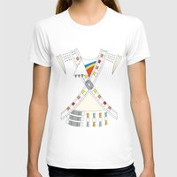 Captain EO Womens Fitted Tee White SMALL