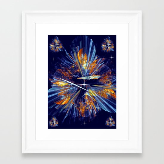 Flower of  Night Framed Art Print