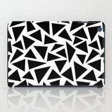 Black and White Triangle iPad Case
