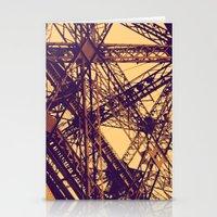 eiffel Stationery Cards featuring Eiffel by adrianperive