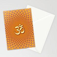 Lotus / Namaste  Stationery Cards
