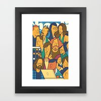 Silicon Valley Framed Art Print