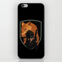 METAL GEAR: The Snake An… iPhone & iPod Skin