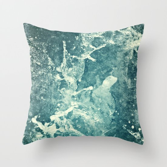 Water II Throw Pillow