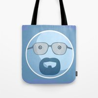 Breaking Bad Blue Sky Version Tote Bag