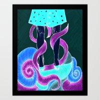 Coil Art Print