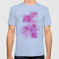 Light And Shade Mens Fitted Tee Athletic Blue SMALL