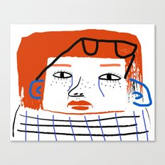 Fashion Women, fashion, fashion illustration, art, design, fun, pattern, people,  Canvas Print