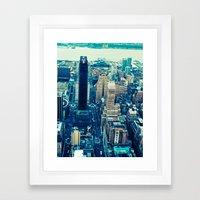 NEW YORK//COLOUR *2 Framed Art Print