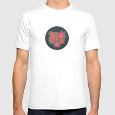 Rosa SMALL Mens Fitted Tee White