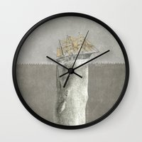 Revenge of The Whale Wall Clock