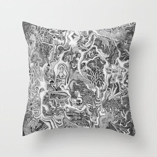 Creature Throw Pillow