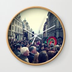 A London Parade  Wall Clock