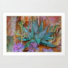 Desert Heat Art Print
