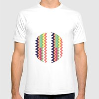 Geodesic Mens Fitted Tee White SMALL