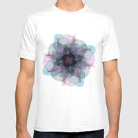 Devil's flower Mens Fitted Tee White SMALL