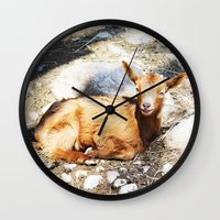 WHEN LIFE IS WONDERFUL Wall Clock