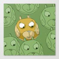 Dog Balls Canvas Print
